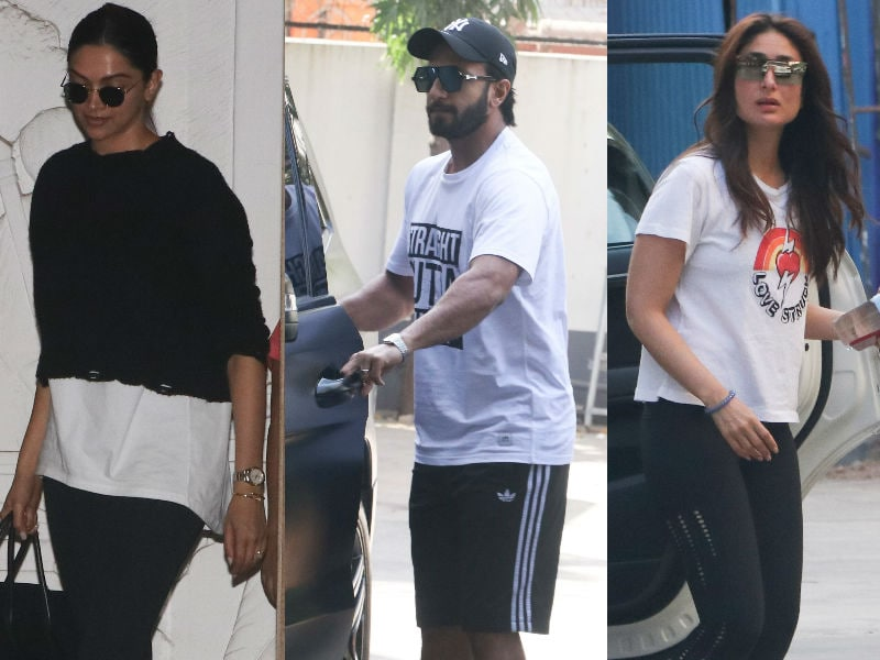 Deepika-Ranveer, Kareena Kapoor Started The Week Like This...