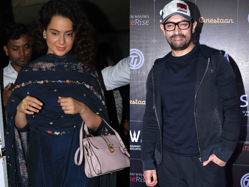 Kangana Ranaut, Aamir Khan Are Busy B-Towners