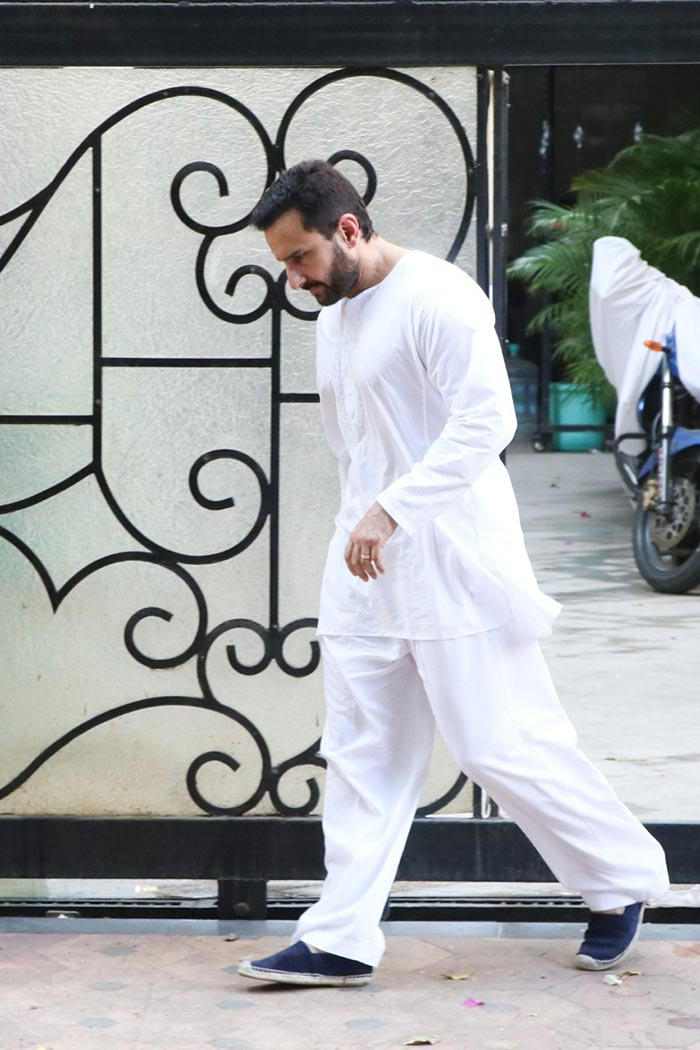 सैफ अली खान बेटे तैमूर के साथ कुछ यूं किए गए स्पॉट