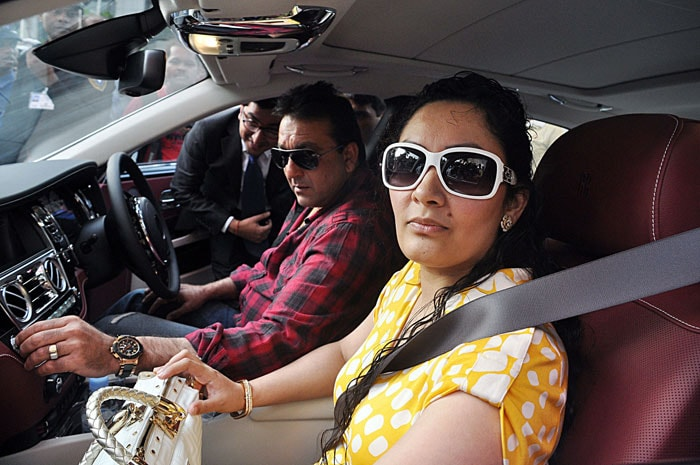 Spotted: Sanjay Dutt gifts his wife a Rolls Royce!