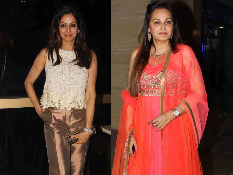 Once They Were Rivals, Now They're Party Pals: Sridevi, Jaya Prada