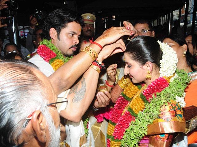 Sreesanth marries his princess