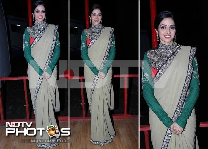 Sridevi\'s top 10 sari looks