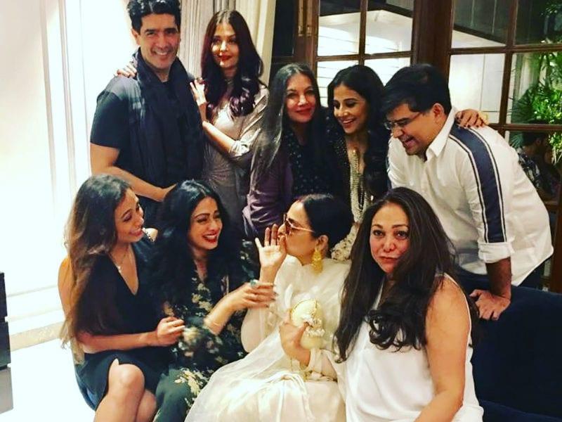 Inside Sridevi's Star-Studded Party With Ash, Rani, Rekha