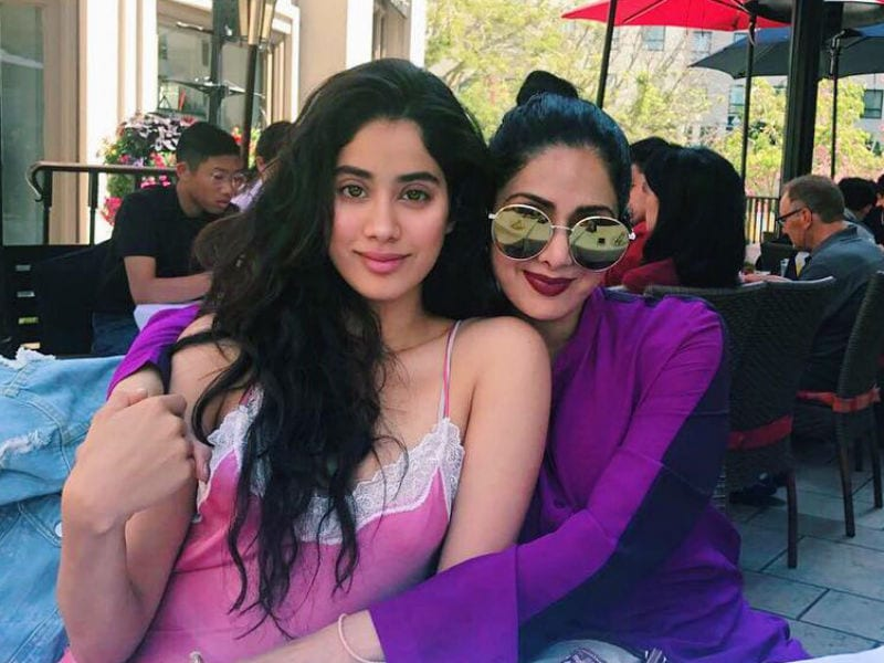 Vacation Mode On For Sridevi And Jhanvi