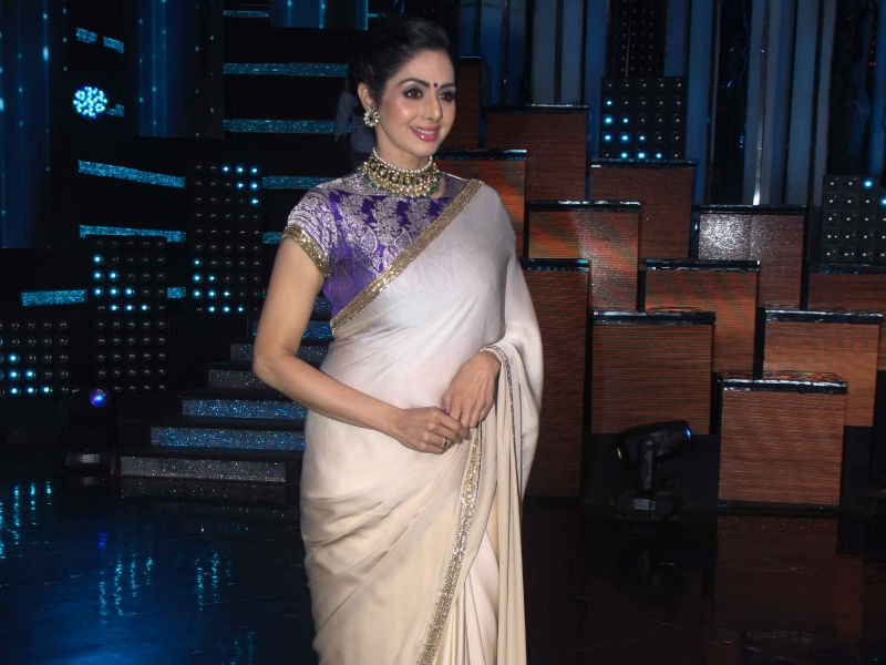 Sridevi Is A Busy 'MOM'