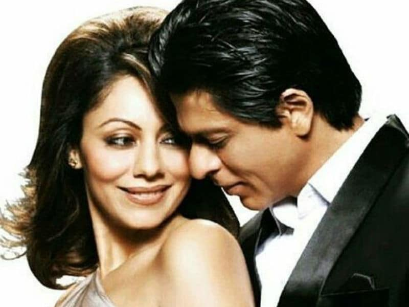 These Pics Perfectly Sum Up Shah Rukh - Gauri Khan's 25 Years Of Marriage