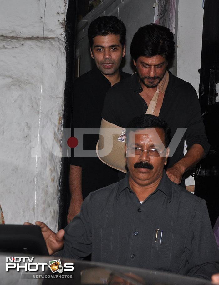 Saturday Night Fever: SRK, KJo