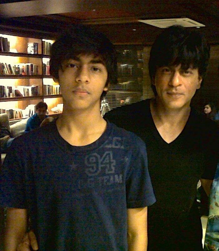 Carbon copies: SRK and son Aryan