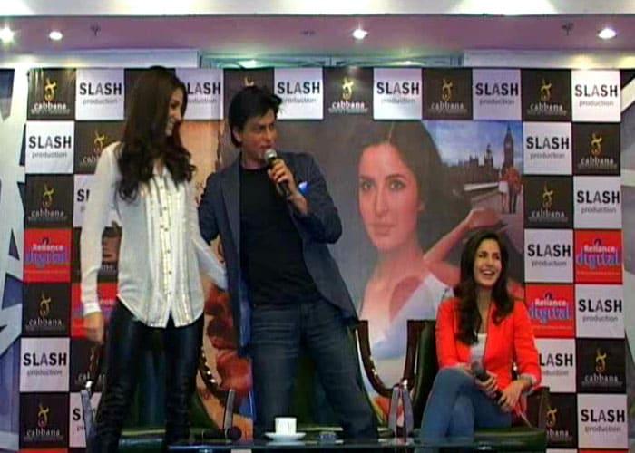 Three to tango: SRK, Katrina, Anushka