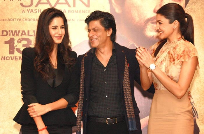 Two girls and a guy: SRK, Kat, Anushka