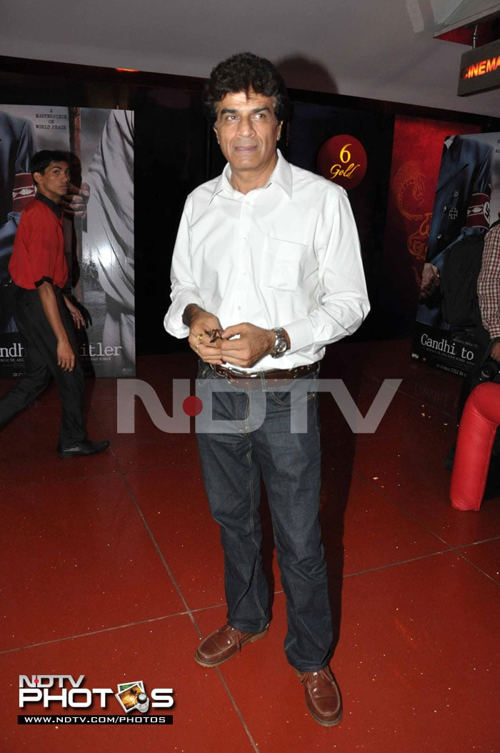 Star Spotting: Neha Dhupia at Gandhi to Hitler premiere
