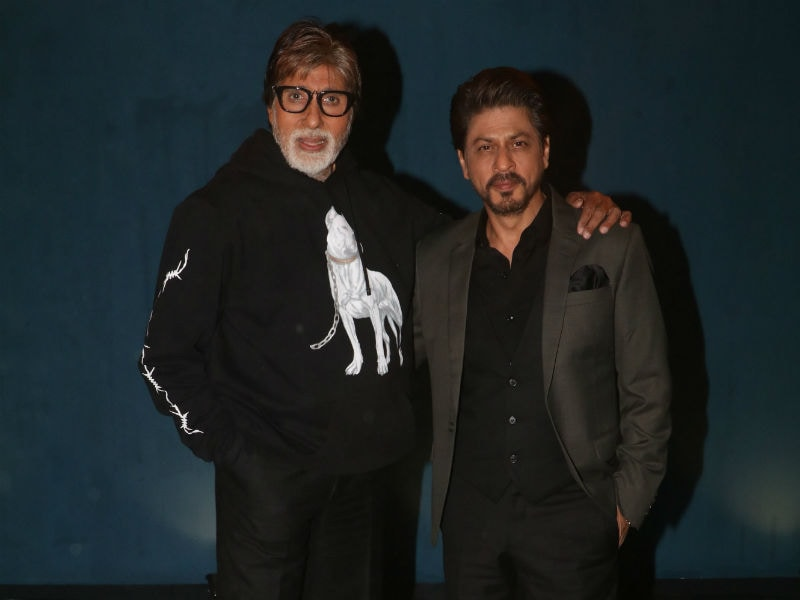 Amitabh Bachchan And Shah Rukh Khan Step Out For Badla Promotions In Style