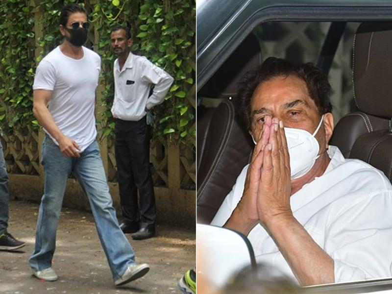 Photo : शाहरुख खान, धर्मेंद्र और अन्य फिल्मी हस्तियों ने दी दिलीप कुमार को अंतिम श्रद्धांजलि