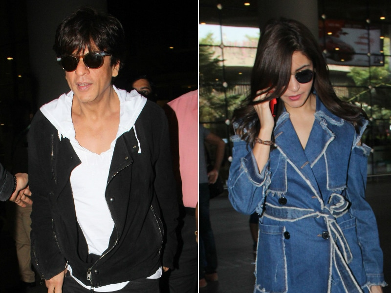 Zero Stars' Anushka And Shah Rukh's Busy Airport Diaries
