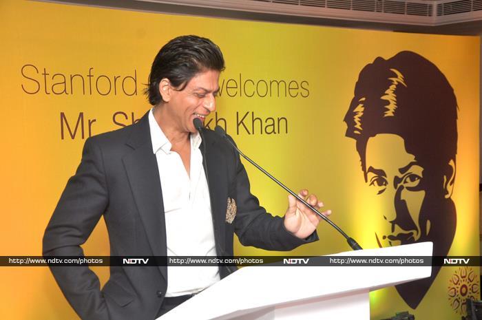 Meet Stanford Role Model Shah Rukh Khan