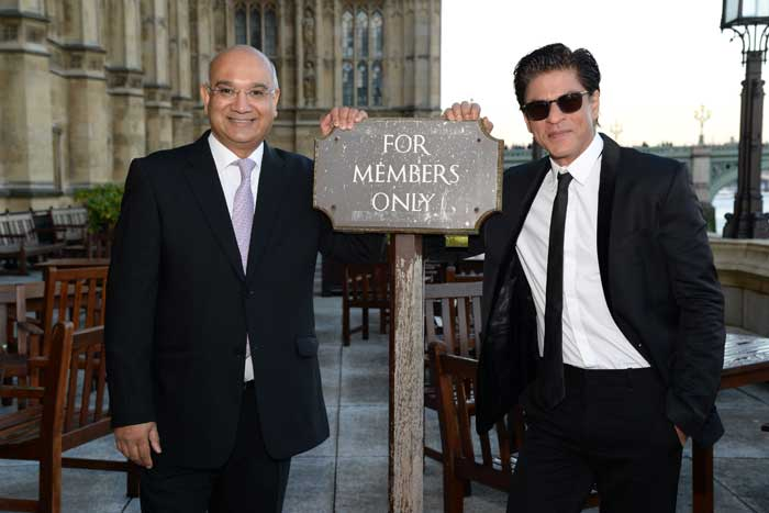 For SRK, With Love from Britain