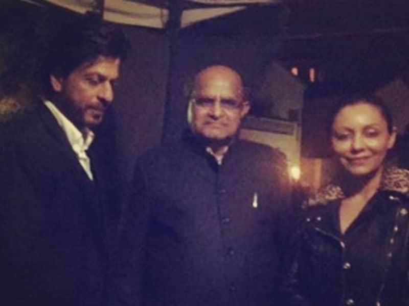 Shah Rukh, Gauri Celebrate New Year in Dilwaalon Ki Dubai