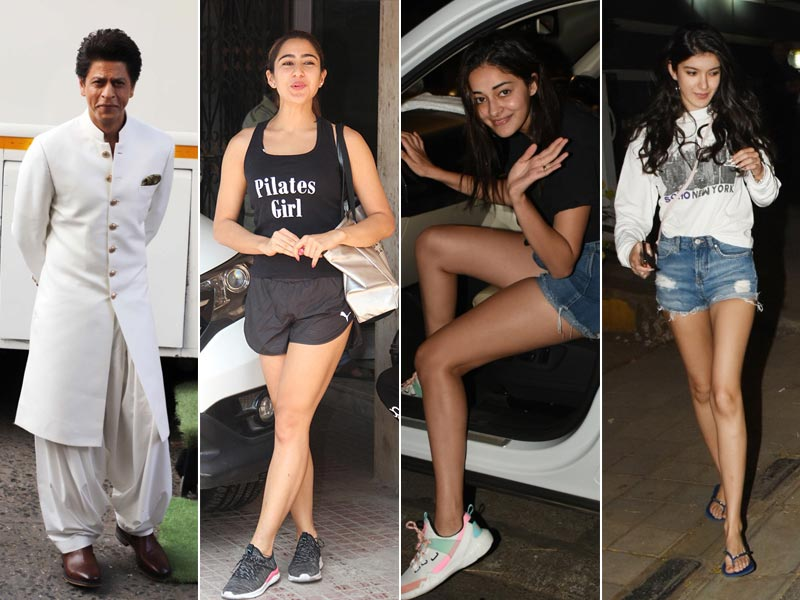 How Shah Rukh, Sara, Shanaya, Ananya Started The Week