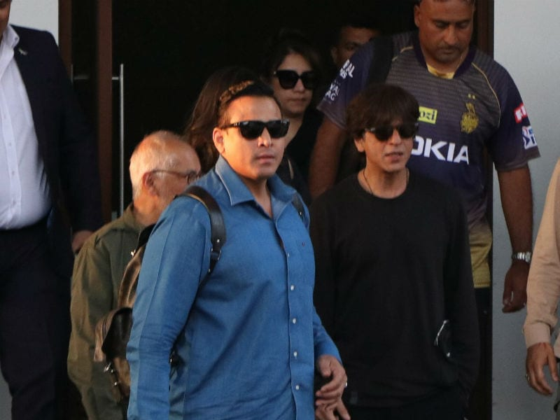 Shah Rukh Khan, Nora Fatehi Fly In And Out Of The City