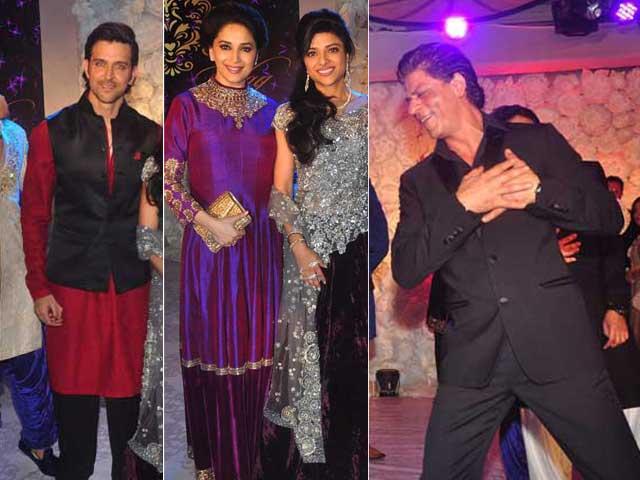 Party Night For SRK, Madhuri, Hrithik