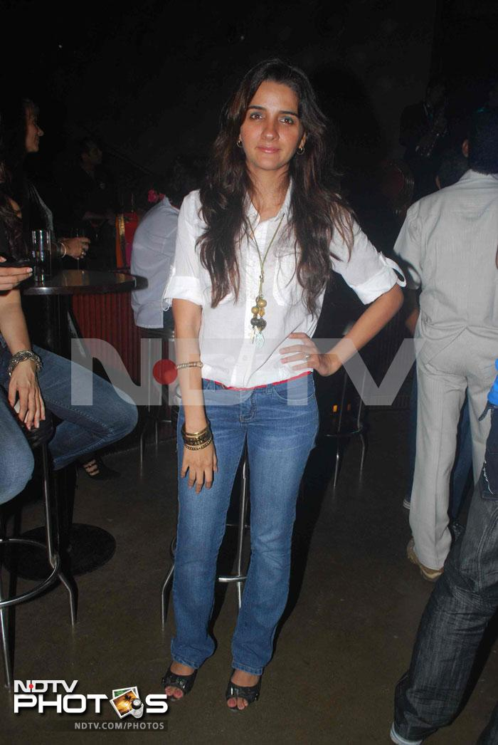Shruti Seth at an album launch