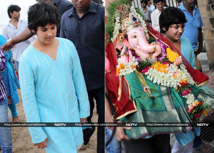 Meet Akshay and Twinkle\'s son Aarav