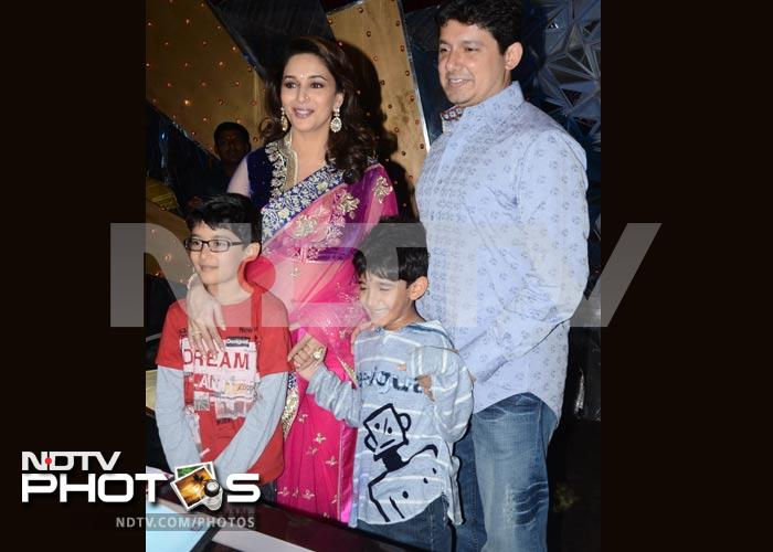 Meet Madhuri Dixit\'s sons Arin and Raayan