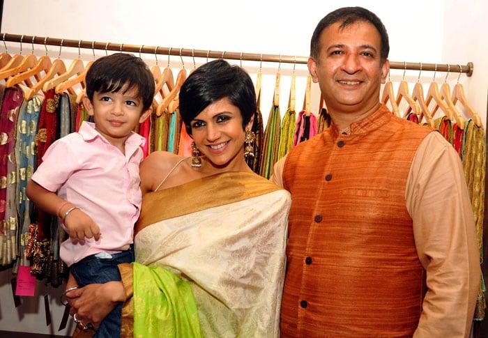 Introducing Mandira Bedi\'s son Vir