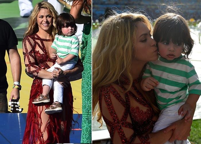 Introducing Shakira\'s Adorable Son Milan