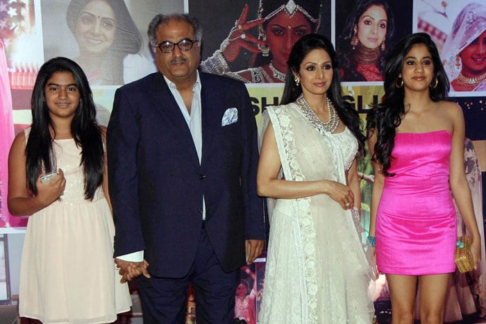Sridevi\'s beautiful daughters are all grown up now
