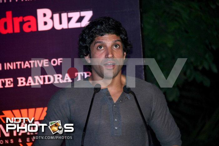 Farhan Akhtar at \'Celeberate Bandra\' concert