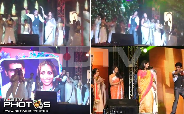 Bollywood A-listers at high profile weddings
