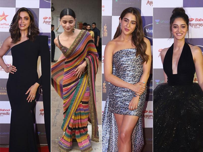 Screen Full Of Stars: Deepika, Alia, Sara, Ananya's Red Carpet Moments