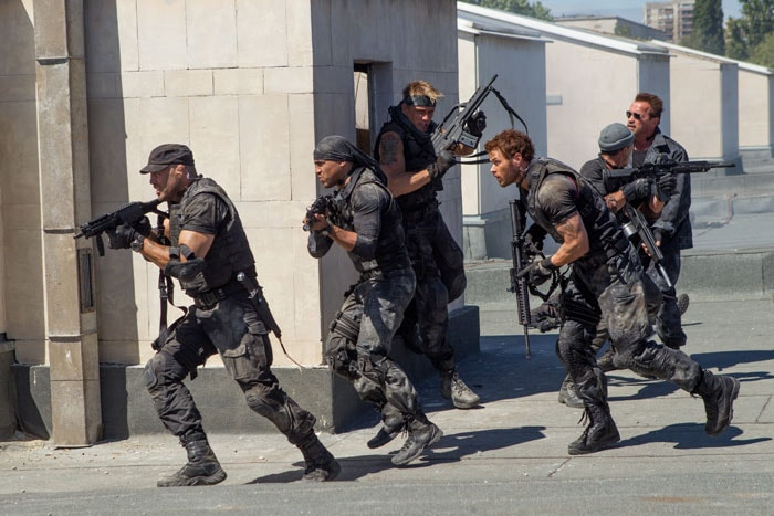 Stills: On the Sets of The Expendables 3