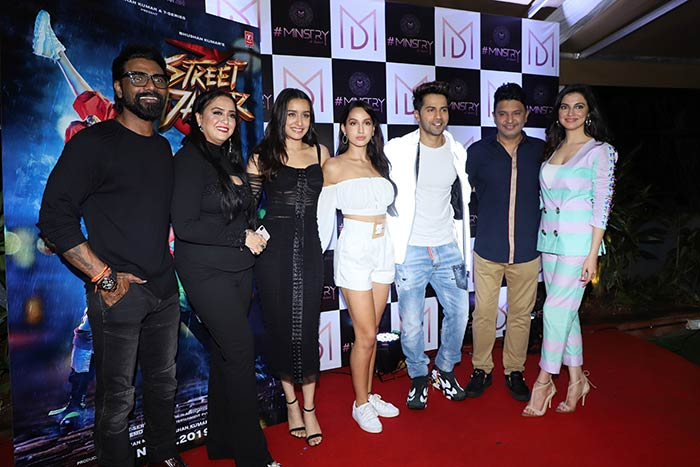 Street Dancer 3D Ends With A Party Starring Varun, Shraddha And Nora