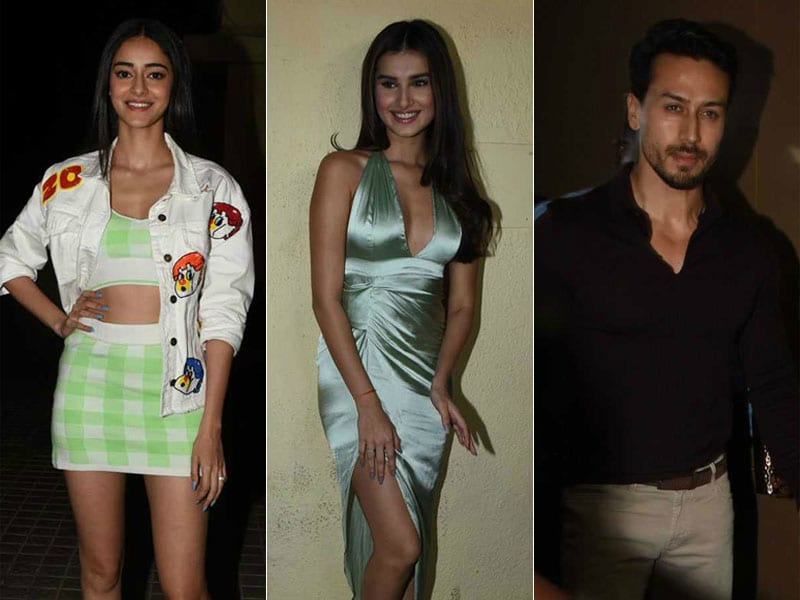 Student Of The Year 2: Ananya Panday, Tara Sutaria And Tiger Shroff Invite Friends To Special Screening