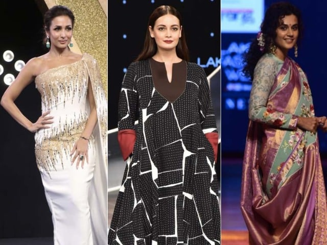 Photo : Style Check: Malaika, Dia And Taapsee's OOTD