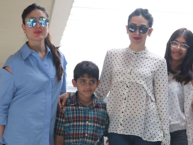 Suhana Visits Karan Johar, Kareena's Lunch Date With Niece And Nephew