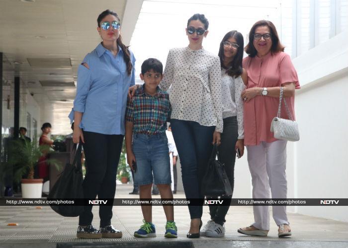 करण जौहर और करीना की लंच डेट में पहुंची शाहरुख खान की बेटी सुहाना
