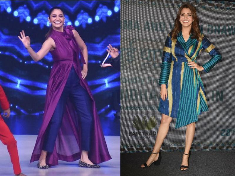 Anushka Sharma Weaves Double Fashion Bonanza With Sui Dhaaga