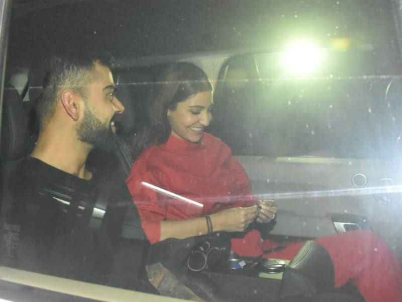 Anushka And Virat Went On Sui Dhaaga Movie Date