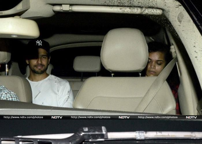 Salman Khan Watches Sultan With Iulia and Katrina