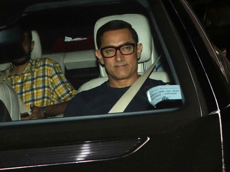 Photo : Aamir Catches Late Night Show of Salman Khan's Sultan
