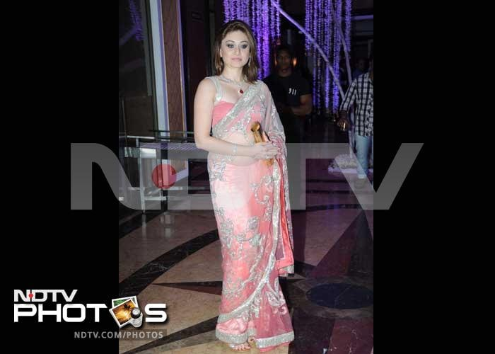 Big stars at Sunidhi Chauhan\'s wedding reception