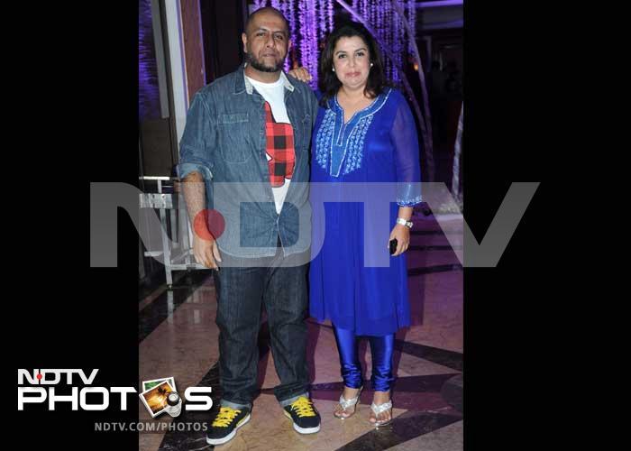 Big stars at Sunidhi Chauhan\'s wedding reception