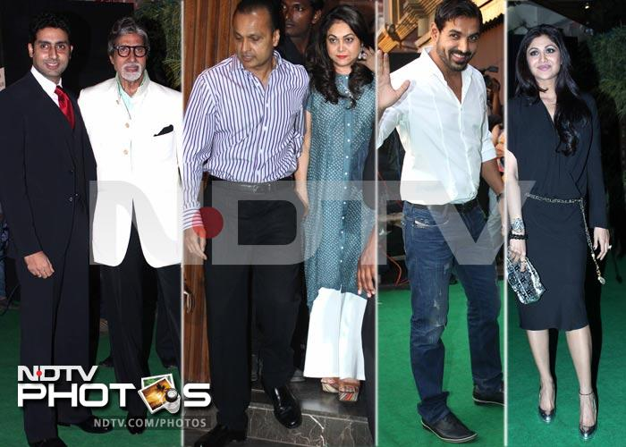 Party starters: the Bachchans & the Ambanis