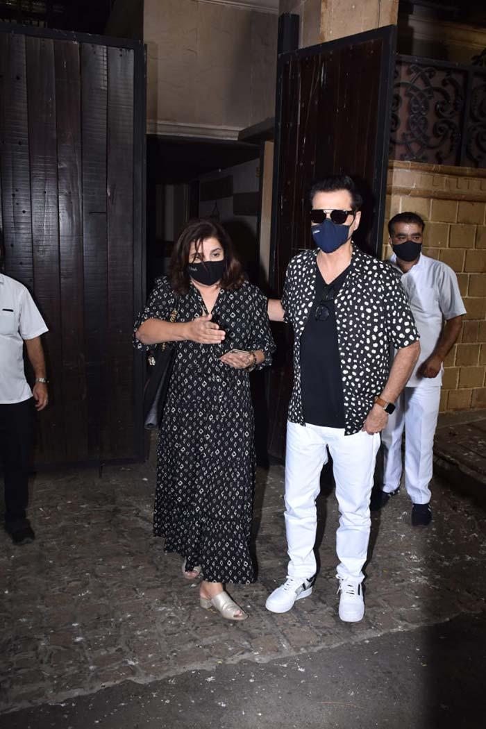 Rani Mukerji, Maheep Kapoor, Farah Khan: Sunita Kapoor\'s Birthday Guests