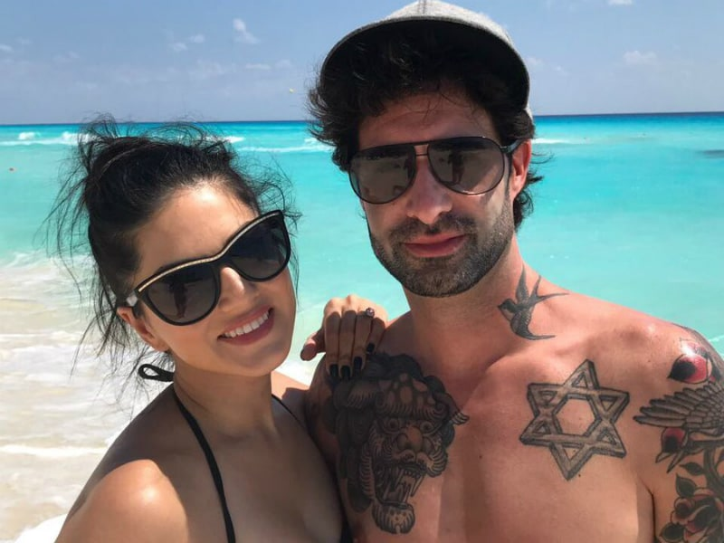 Inside Sunny Leone's Beach Vacation
