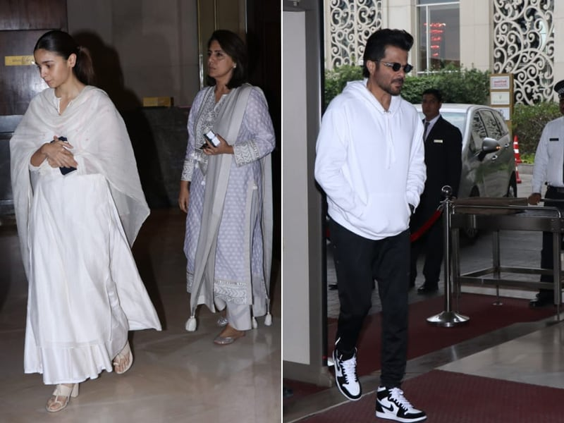 Inside Suraj Prakash Malhotra's Prayer Meet: Alia Bhatt, Neetu Kapoor, Anil Kapoor And Others